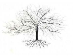 Oak Tree Metal Wall Art 4611